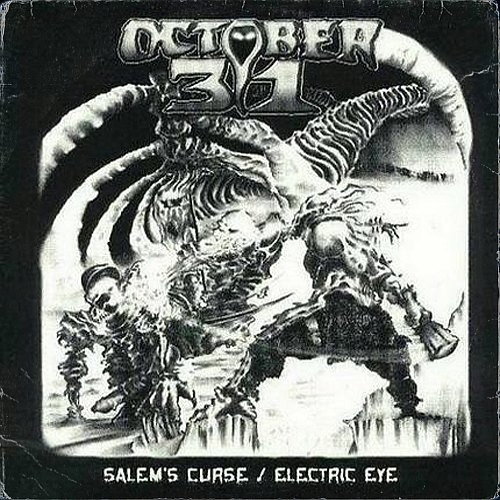 October 31 - Salem's Curse / Electric Eye (7''EP)
